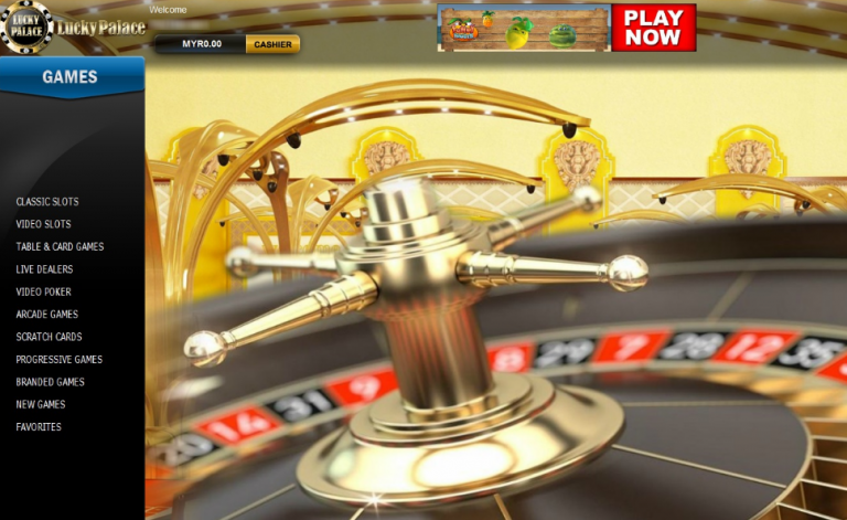 lucky palace casino online
